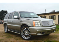 FRESH IMPORT 2004 CADILLAC ESCALADE V8 AUTOMATIC 8 SEATER NAVIGATOR EXPEDITION