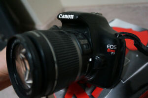 Canon Rebel EOS T3 with 16-55mm Lens - DSLR $300