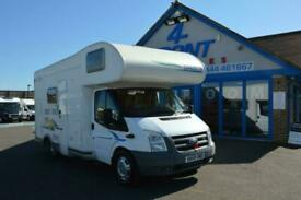 2009 CHAUSSON FLASH S3 MOTORHOME CAMPERVAN FORD TRANSIT 2.2 DIESEL 130 BHO 6 SP