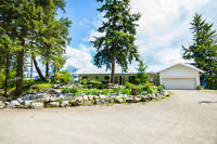 17 Twin Lake Rd, Enderby- Views of the Enderby Cliffs.