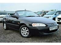 VERY RARE COLLECTOR ITEM TOYOTA PASEO CYNOS AUTOMATIC CONVERTIBLE 4 SEATER BLACK
