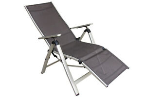 alu relaxsessel relaxliege gartenliege sonnenliege. Black Bedroom Furniture Sets. Home Design Ideas