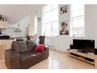 A LARGE TWO DOUBLE BEDROOM FLAT SET IN A SCHOOL CONVERSION MOMENTS FROM UPPER STREET
