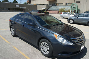 Very clean 2012 Hyundai Sonata GL+ 4 winter tires on rims