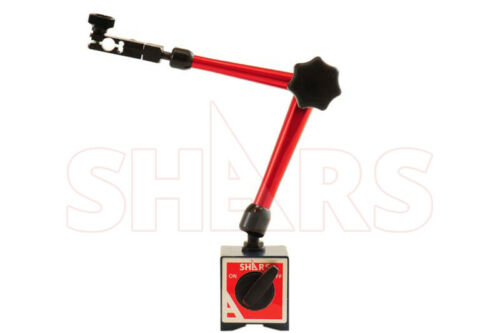 SHARS 135LBS UNIVERSAL MAGNETIC BASE FOR DIAL TEST INDICATOR NEW P]