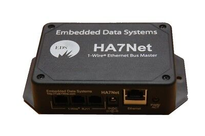 Eds Embedded Data Systems Ha7net Ethernet 1 Wire Host Adapter Retail  175