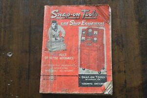 1963 Snap-On Tools Catalog,