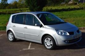 2008 RENAULT SCENIC 2.0 VVT Dynamique 5dr ONE OWNER ONLY 11,000 MILES