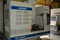 "40""X, 20""Y, 17.72""Z, OKUMA, MC-4020, 2002, VERTICAL MACHINING CE"