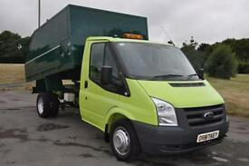 Ford Transit 2.4TDCi ( 140PS ) 350 TREE/ ARB TIPPER 25,000 MILES £13495 + VAT