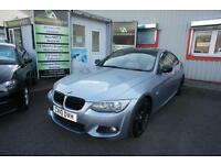 2010 BMW 3 SERIES 320D M SPORT 181 MODEL GREAT COLOUR COMBO COUPE DIESEL