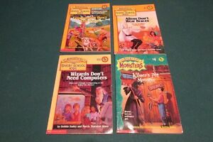 Another lot of 4 Bailey School Kids books