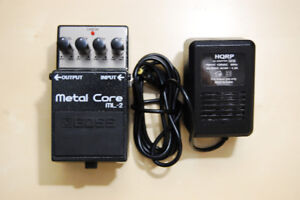 BOSS ML-2 Metal Core +Power Adapter – Unreal Tone Mint Condition