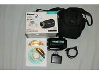 Panasonic HD Camcorder(HC-V250) and a free case