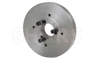 Shars 7.874 D1-4 Fully Machined Lathe Chuck Back Plate For 8 Independent Chuck