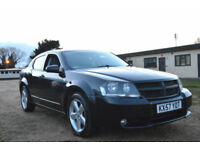 LATE 2007 57 FULLY LOADED DODGE AVENGER 2.0 CRD SXT TURBO DIESEL 6 SPEED MANUAL