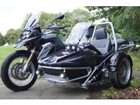 14/14 BMW R 1200 GS TE ABS SBW SIDECAR 15,300 MILES