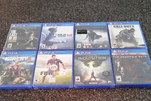 Selling PS4 games. UNOPENED & BRAND NEW. List in Ad. London Ontario image 1