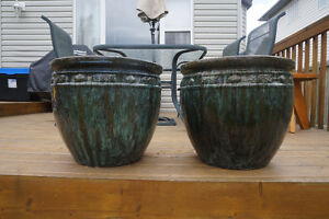Stunning Glazed Ceramic Planters