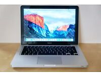 APPLE MACBOOK PRO A1278(2013/14)-excellent condition-intel core i5-2.5GHz/4GB/500GB