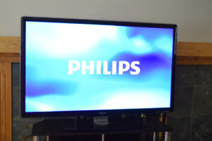 "Philips 55"" 120HZ 1080p LED TV Television 55PFL7505D"