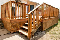 We do Custom Decks, Fences & Railings... Oh My!