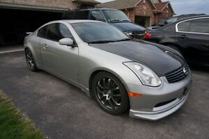 Clean 2003 Infiniti G35 Coupe with Tasteful Mods, $7500!!!