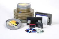 AUDIO/ VIDEO TRANSFERS TO  CD/DVD HARD DRIVE AND USB KEY