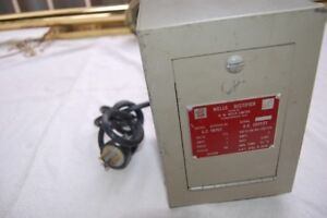 Antique +/-60 or +/-130 VDC Power Supply
