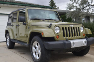 2013 Jeep Wrangler sahara unlimited SUV, Crossover