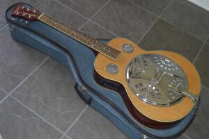 Resonator Acoustic Electric Guitar