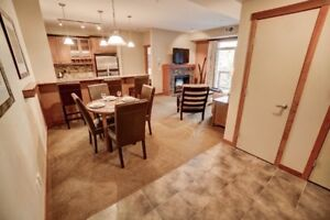 Canmore Vacation Zoned Luxury 2 bed 2 Bath West Facing Condo