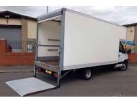 MAN &Van Large Loton van with tail lift Best price All uk call 24/7
