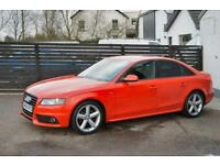 2010 AUDI A4 S LINE SPECIAL EDITION 170 MISANO PEARL RED FASH 2 KEYS B&O SOUNDS