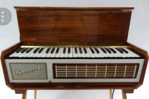 PianoOrgan II-by Farfisa brand (made in Italy)  1950s-$45