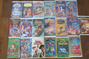 cassettes walt disney lot $20.00