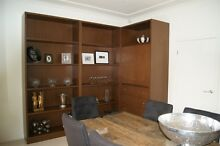 Large architectural bookcase and corner cabinet St Georges Burnside Area Preview
