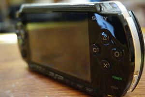 PSP with Games, Case, and Charger Cornwall Ontario image 2