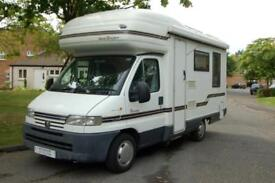 Autosleeper Ravenna, end lounge, compact yet spacious,good levels of equipment.