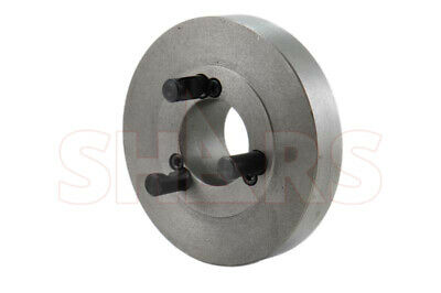 """8/"""" Fully Machined Threaded Back Plate 2-1//4-8 for 8/"""" 4 Jaw Independent Chuck New"""