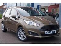 2013 FORD FIESTA 1.25 82 Zetec GBP30 TAX, ALLOYS, AIR CON and HTD SCREEN