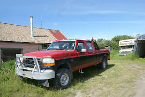1992 Ford F-350 crewcab Pickup Truck