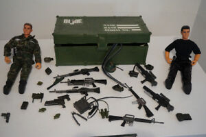 G.I Joe Footlocker  Includes TWO Action Figures