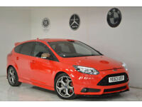 2013 Ford Focus 2.0T 250ps ST3+FDSH+DAB+HEATED LEATHER+2 KEYS+PX ST2 ST ST1 ST-3