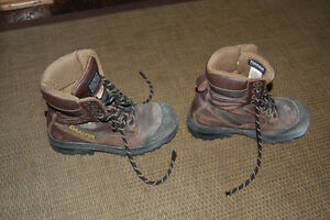 dakota steel toe work boots women's 9