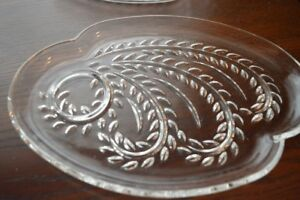 Glass Platters and serving plates GUC