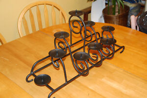 Metal Candle Rack