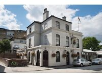 Busy riverside SW London Gastro Pub looking for experienced waiting staff to join their team!