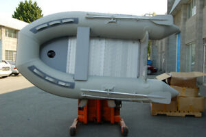 9 ft Inflatable boat with alum Floor double protection layer