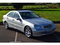 MERCEDES C CLASS C200 CDI SE 4dr AUTOMATIC LOW MILEAGE ONLY 35,000 MILES DIESEL